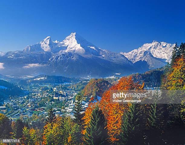 Berchtesgaden and Mount Watzmann