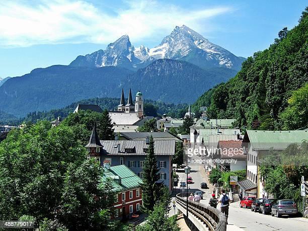 Berchtesgaden and Watzmann, Bavaria