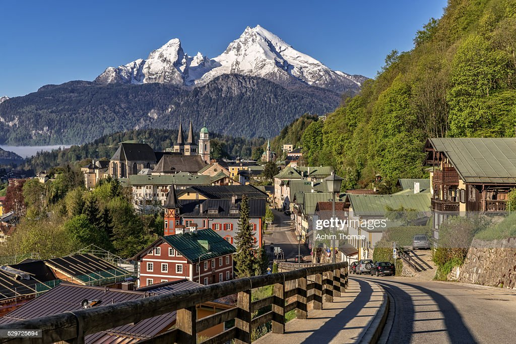 Berchtesgaden - Bavaria - Germany - Cityview : Stock Photo