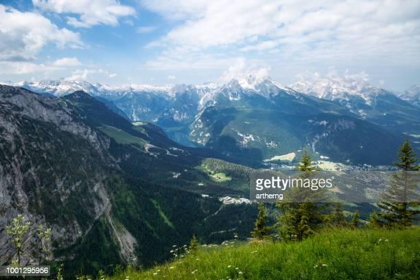 berchtesgaden national park, berchtesgadener land, bavaria, germany - berchtesgaden national park stock photos and pictures