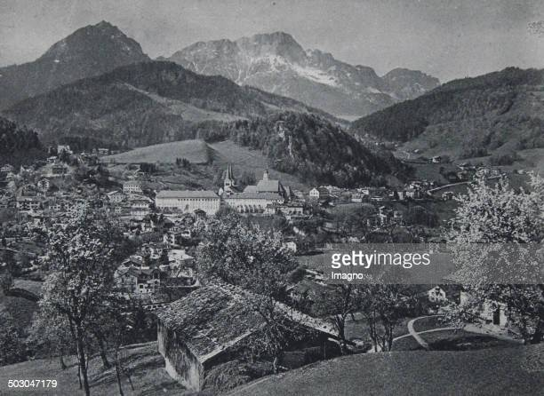 Berchtesgaden with the Unterberg 1922 Photograph