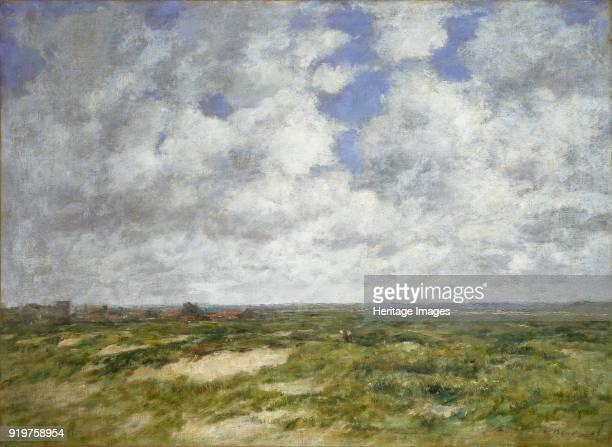 Berck cloudy Landscape 1882 Artist Eugene Louis Boudin