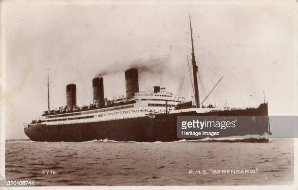 Berengaria, 1932. Originally a German ocean liner named SS Imperator and launched in 1912, Berengaria served as a troopship during the First World...