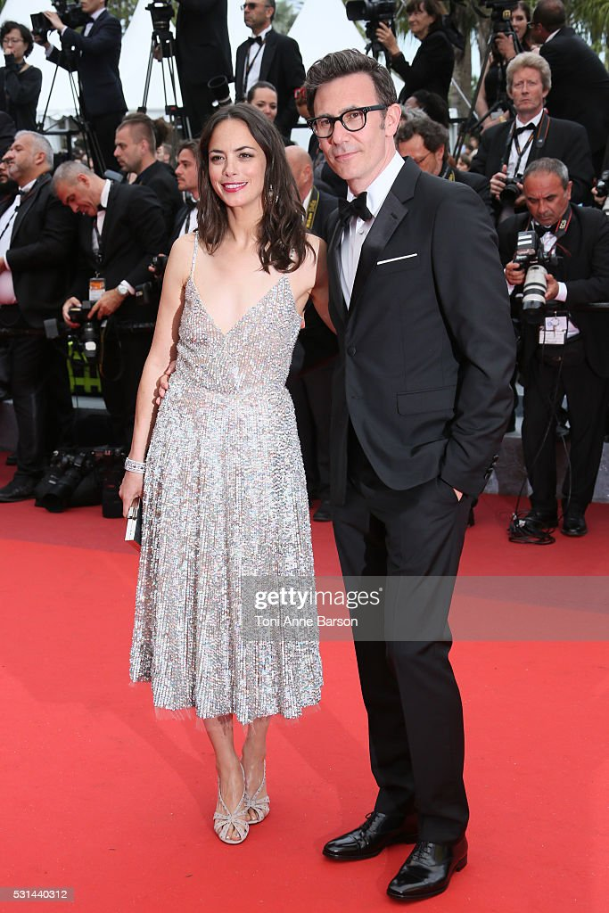 Berenice Bejo and Michel Hazanavicius attend a screening of 'The BFG' at the annual 69th Cannes Film Festival at Palais des Festivals on May 14, 2016 in Cannes, France.