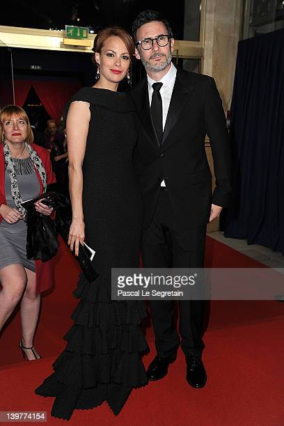 Berenice Bejo and Michel Hazanavicius attend the 37th Cesar Film Awards at Theatre du Chatelet on February 24 2012 in Paris France