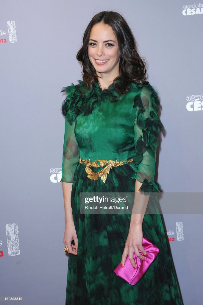 Berenice Bejo arrives at Cesar Film Awards 2013 at Theatre du Chatelet on February 22, 2013 in Paris, France.