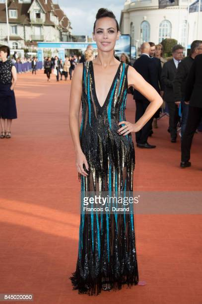 Berenice Bejo arrives at the closing ceremony of the 43rd Deauville American Film Festival on September 9 2017 in Deauville France