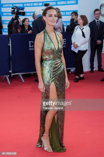 Berenice Bejo arrives at the opening ceremony of the 43rd Deauville American Film Festival on September 1 2017 in Deauville France