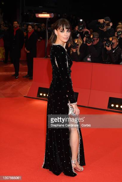 Berenice Bejo arrives for the opening ceremony and My Salinger Year premiere during the 70th Berlinale International Film Festival Berlin at...