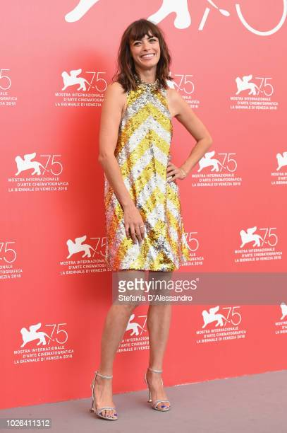 Berenice Bejo attends 'La Quietud' photocall during the 75th Venice Film Festival at Sala Casino on September 2 2018 in Venice Italy