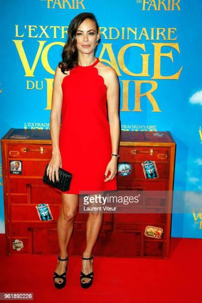 Berenice Bejo attends L'Extraordinaire Voyage du Fakir Paris Premiere at Publicis Champs Elysees on May 23 2018 in Paris France