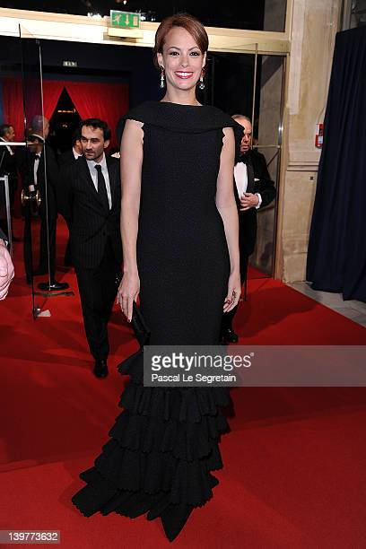 Berenice Bejo attends the 37th Cesar Film Awards at Theatre du Chatelet on February 24 2012 in Paris France