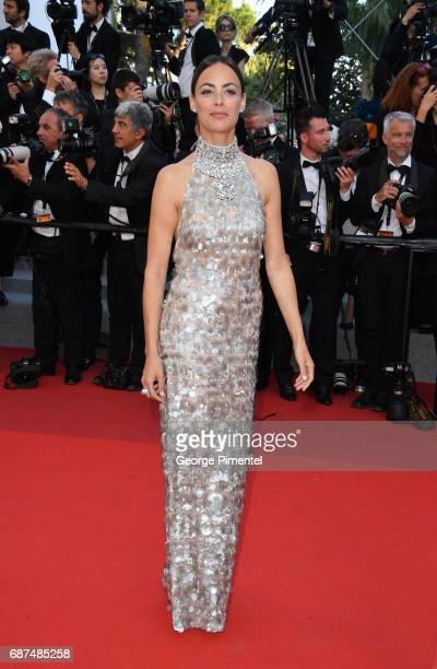 Berenice Bejo attends the 70th Anniversary screening during the 70th annual Cannes Film Festival at Palais des Festivals on May 23 2017 in Cannes...