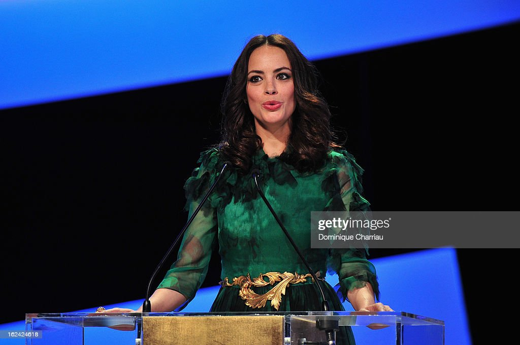 Berenice Bejo attends the Cesar Film Awards 2013 at Theatre du Chatelet on February 22, 2013 in Paris, France.