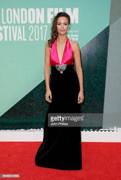 Berenice Bejo attends the Create Gala UK Premiere of Redoubtable during the 61st BFI London Film Festival on October 7 2017 in London England