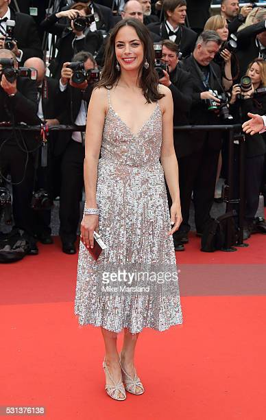 Berenice Bejo attends the 'The BFG ' premiere during the 69th annual Cannes Film Festival at the Palais des Festivals on May 14 2016 in Cannes France