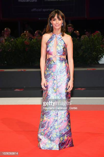 Berenice Bejo walks the red carpet ahead of the 'La Quietitud ' screening during the 75th Venice Film Festival at Sala Grande on September 2 2018 in...