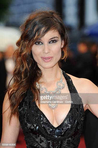 """Berenice Marlohe at the premiere for """"Amour"""" during the 65th Cannes International Film Festival."""