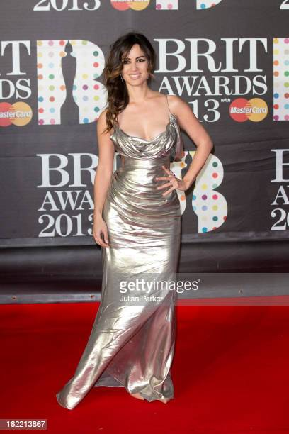 Berenice Marlohe attends the Brit Awards 2013 at the 02 Arena on February 20 2013 in London England
