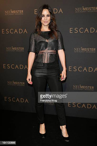 Berenice Marlohe attends the grand opening of the 'Escada' Flagshipstore on March 19 2013 in Berlin Germany