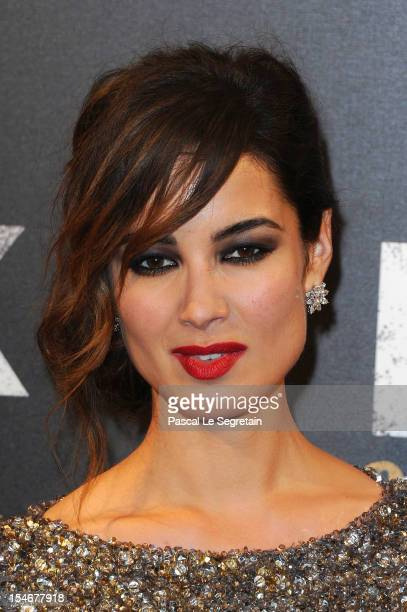 Berenice Marlohe attends the premiere of the latest James Bond 'Skyfall' at Cinema UGC Normandie on October 24 2012 in Paris France