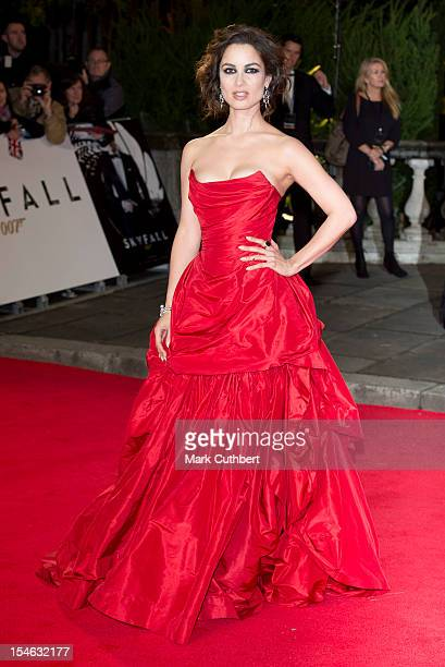 Berenice Marlohe attends the Royal World Premiere of 'Skyfall' at Royal Albert Hall on October 23 2012 in London England