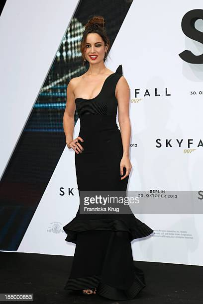 Berenice Marlohe attends the 'Skyfall' Germany Premiere at Theater am Potsdamer Platz on October 30 2012 in Berlin Germany