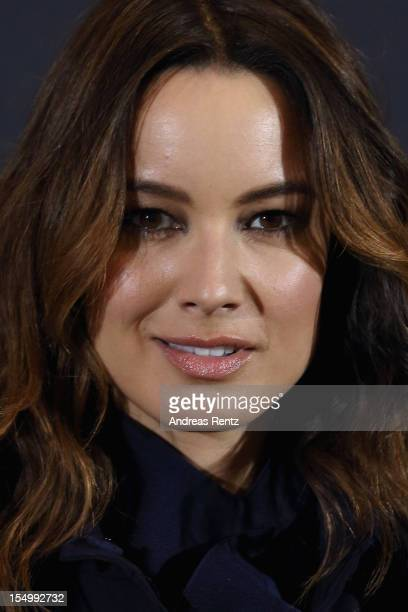Berenice Marlohe poses during the photocall for the film 'Skyfall' at Adlon Hotel on October 30, 2012 in Berlin, Germany.