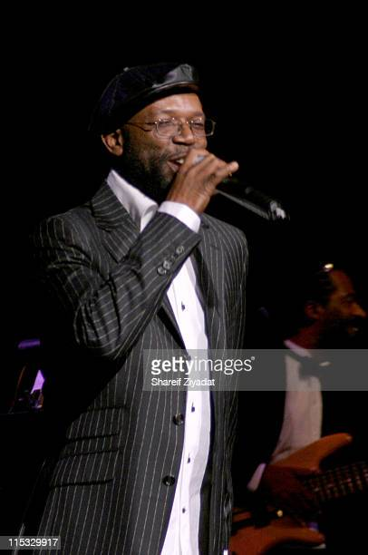 Beres Hammond during VP Records 25th Anniversary - Arrivals and Concert at Radio City Music Hall in New York City, New York, United States.