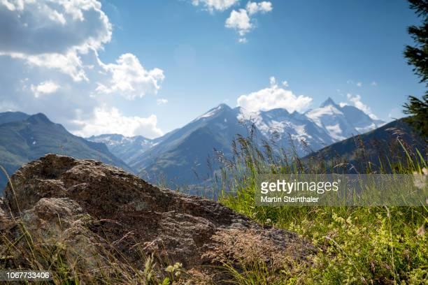 Berg Panorama mit Grossglockner im Nationalpark Hohe Tauern