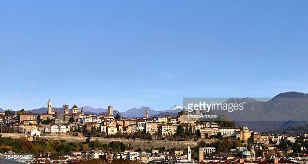 "bergamo ""città alta"" - bergamo stock pictures, royalty-free photos & images"