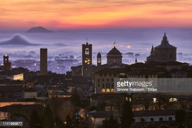 bergamo - bergamo stock pictures, royalty-free photos & images