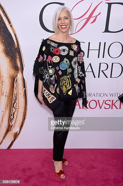Bergdorf Goodman Creative Director Linda Fargo attends the 2016 CFDA Fashion Awards at the Hammerstein Ballroom on June 6 2016 in New York City
