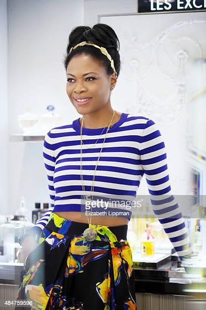Bergdorf Goodman's Social Media Beauty Editor Felicia Walker Benson is photographed for Vensette on January 30 2015 in New York City