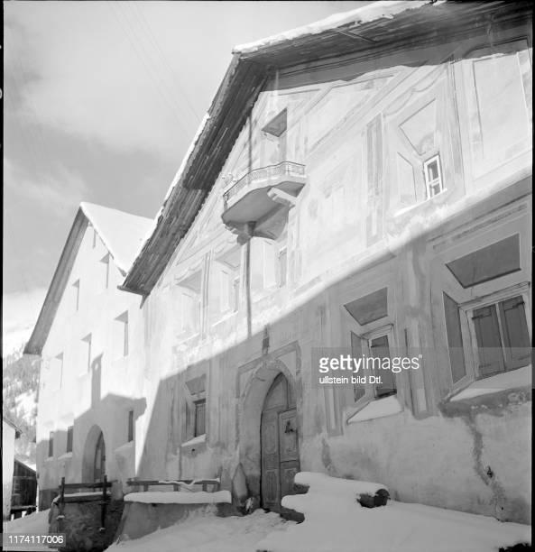 Bergdorf Guarda am Neujahrstag 1942