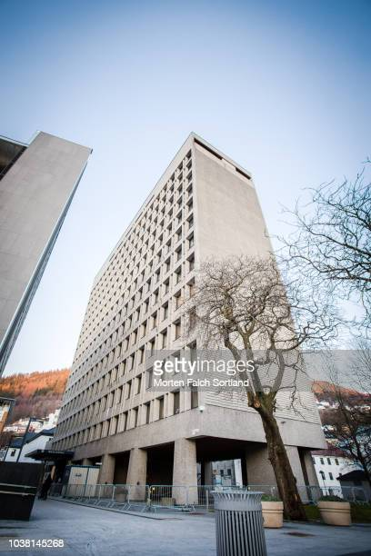 Bergen City Hall, Norway Wintertime