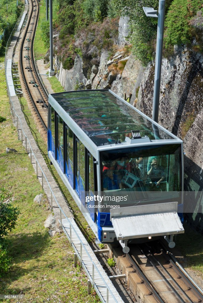 bergen funicular railway norway news photo getty images