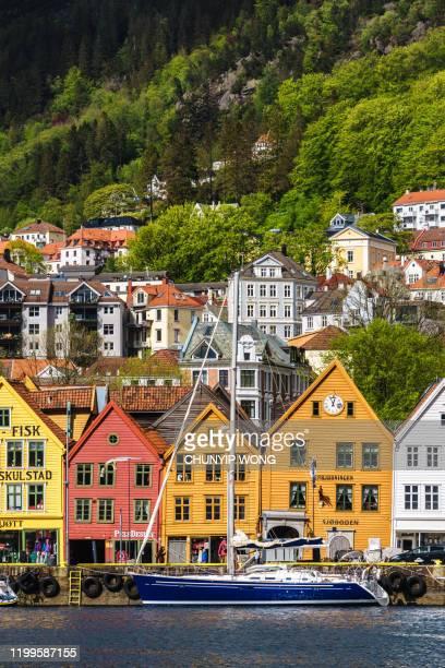 bergen, noruega - noruega fotografías e imágenes de stock