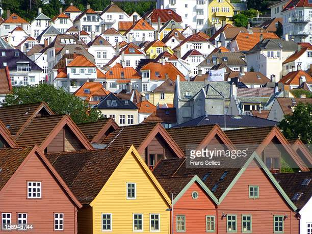bergen,  norway - frans sellies stock pictures, royalty-free photos & images