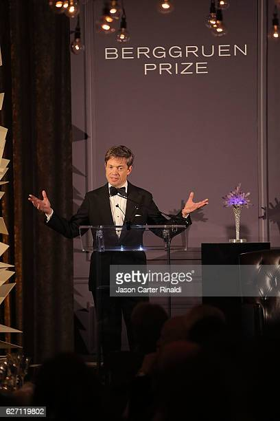 Berggruen Institute Chairman Nicolas Berggruen attends The Berggruen Prize Gala Honoring Philosopher Charles Taylor at New York Public Library Astor...