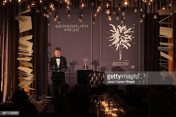 Berggruen Institute Chairman Nicolas Berggruen attends The Berggruen Prize Gala Honoring Philosopher Charles Taylor at New York Public Library Astor...