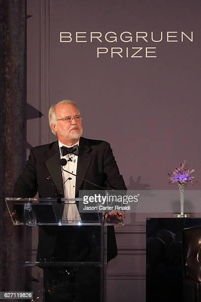 Berggruen Institute President Craig Calhoun attends The Berggruen Prize Gala Honoring Philosopher Charles Taylor at New York Public Library Astor...