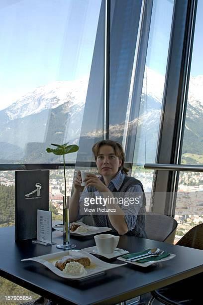 Bergisel Ski Jump Innsbruck Austria Architect Zaha Hadid Bergisel Ski Jump Strudel With Mountain View