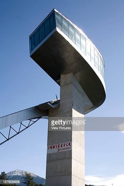 Bergisel Ski Jump Innsbruck Austria Architect Zaha Hadid Bergisel Ski Jump View Of The Tower