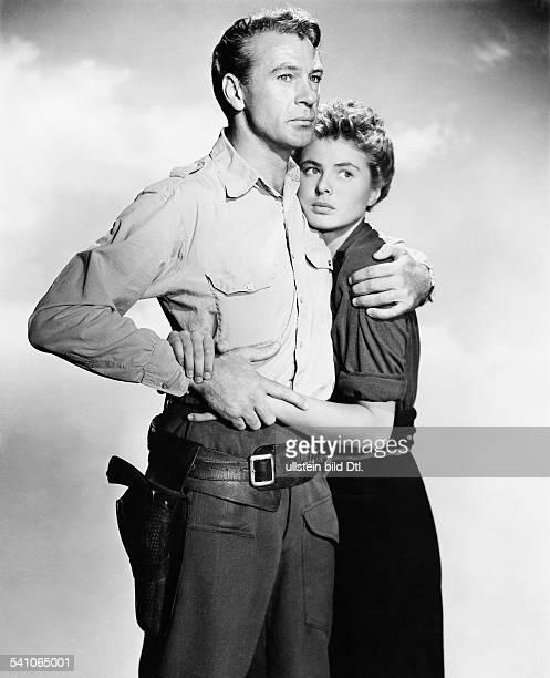 Bergmann Ingrid *Schauspielerin Schwedenmit Gary Cooper in 'Wem die Stunde schlägt' USA 1943 Regie Sam Wood