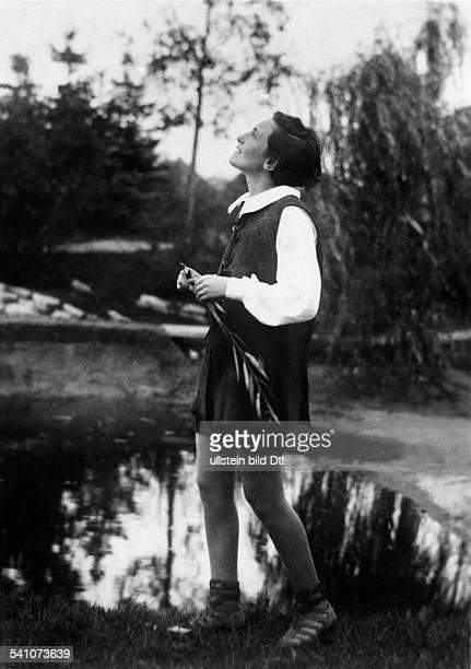 Bergner Elisabeth Actress Austria *22081897 Scene from the film 'Der Geiger von Florenz'' directed by Paul Czinner Germany 1926 Produced by...