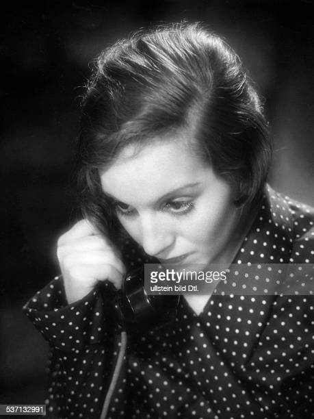 Bergner Elisabeth Actress Austria Scene from the movie 'Der traeumende Mund'' Directed by Paul Czinner Germany 1932 Produced by MatadorFilm GmbH...