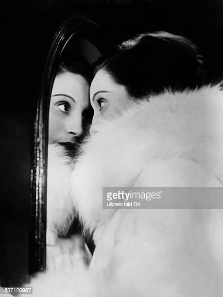 Bergner Elisabeth Actress Austria Scene from the movie 'Fraeulein Else'' Film based on a novella by Arthur Schnitzler Directed by Paul Czinner...