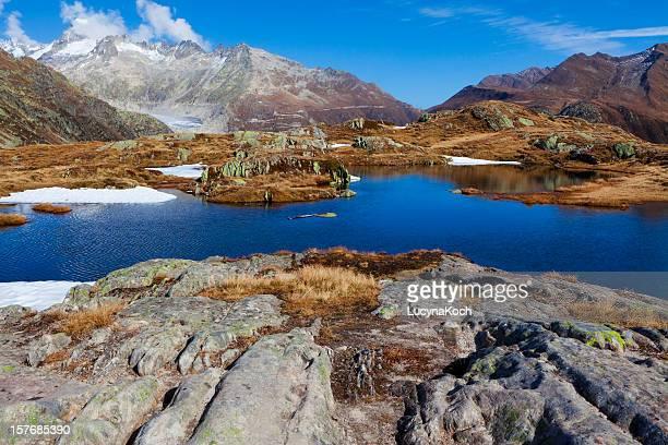 grimselpass bergseeli uhr - lucyna koch stock-fotos und bilder