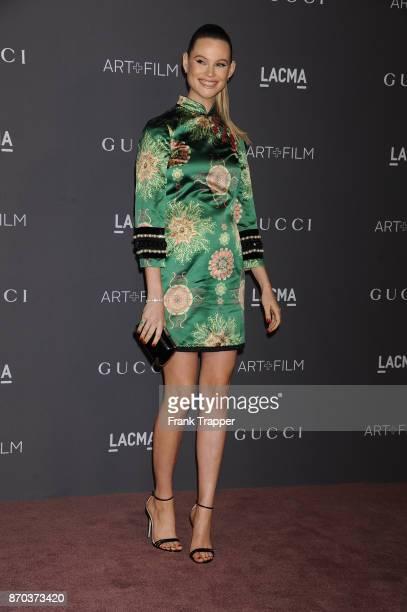 Berhati Prinsloo attends the 2017 LACMA Art Fim Gala in Los Angeles California